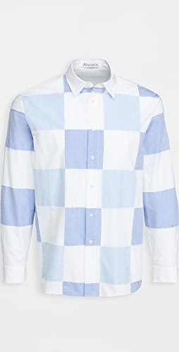 J.W. Anderson - Checkerboard Applique Shirt