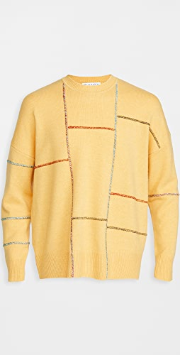 J.W. Anderson - Patchwork Darning Sweater