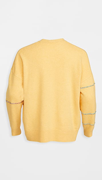 J.W. Anderson Patchwork Darning Sweater