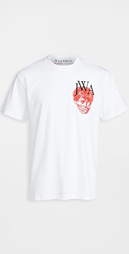 J.W. Anderson - Embroidered Face JWA T-Shirt