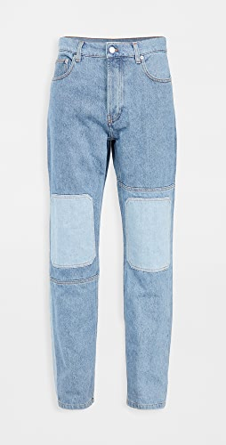 J.W. Anderson - Patchwork Workwear Jeans
