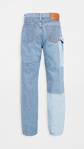 J.W. Anderson Patchwork Workwear Jeans