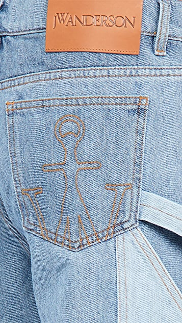 J.W. Anderson Patchwork Workwear Jeans