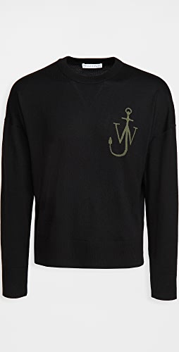 J.W. Anderson - Anchor Crew Neck Sweater