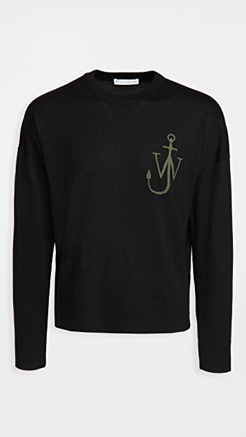 J.W. Anderson Anchor Crew Neck Sweater