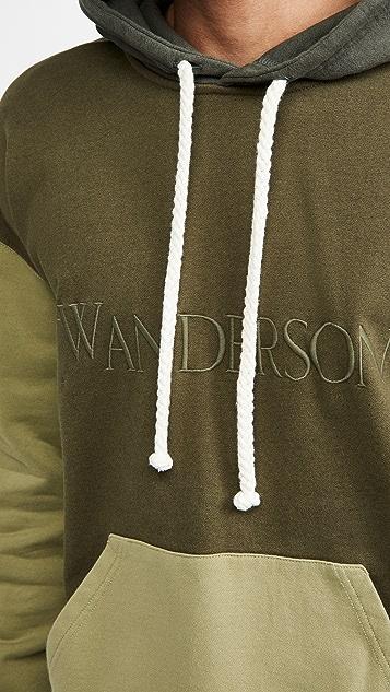 J.W. Anderson Colour Block Hoodie