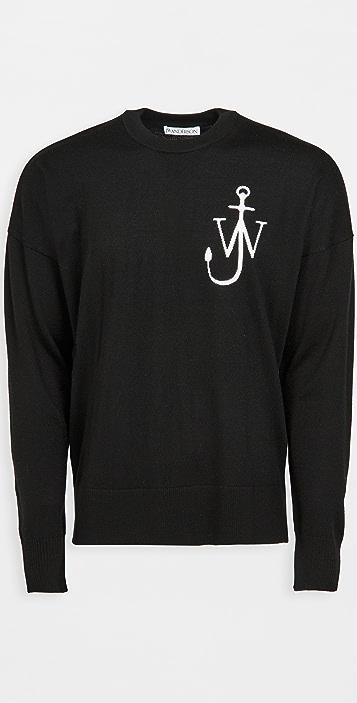 J.W. Anderson Anchor Crewneck Sweater