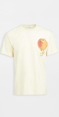 J.W. Anderson - Printed Peach Logo T-Shirt