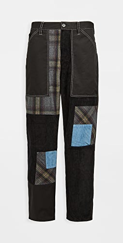 J.W. Anderson - Cropped Patchwork Fatigue Trousers