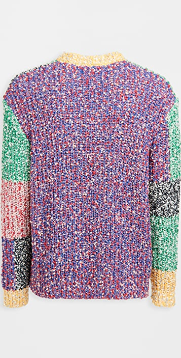 J.W. Anderson Anchor Patchwork Crewneck Sweater