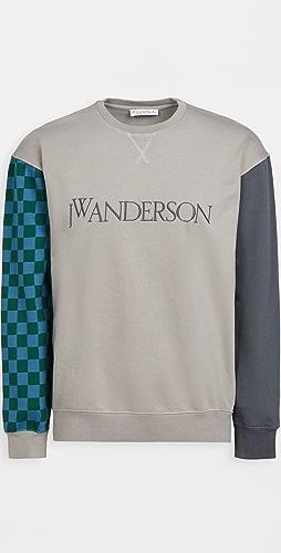 J.W. Anderson - Colorblock Logo Sweatshirt