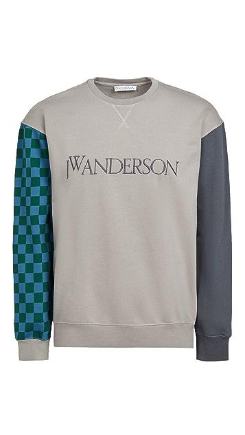 J.W. Anderson Colorblock Logo Sweatshirt