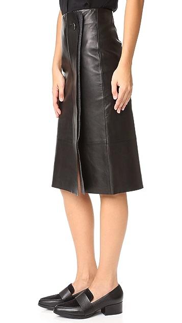 Jason Wu Grey Pencil Skirt
