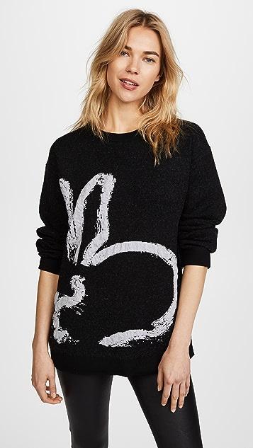 Jason Wu Grey Bunny Sweater