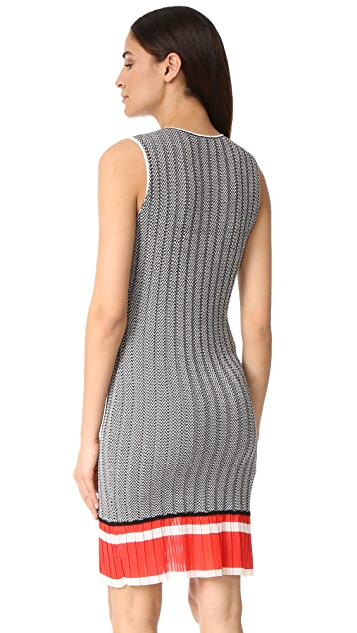 Jason Wu Grey Chevron Dress