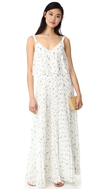 Jason Wu Grey Print Maxi Dress
