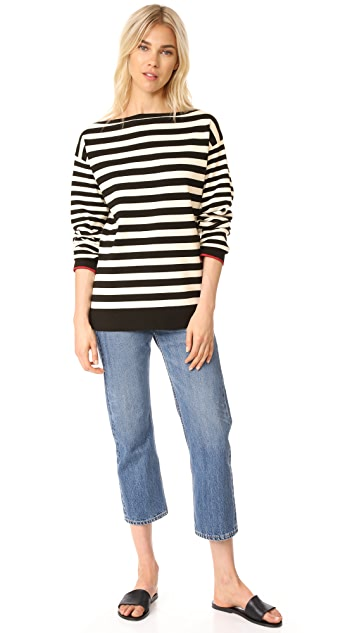 Jason Wu Grey Boat Neck Sweater