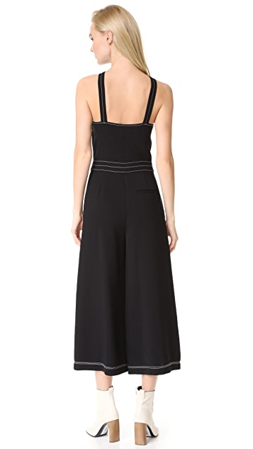 Jason Wu Grey Wide Leg Jumpsuit