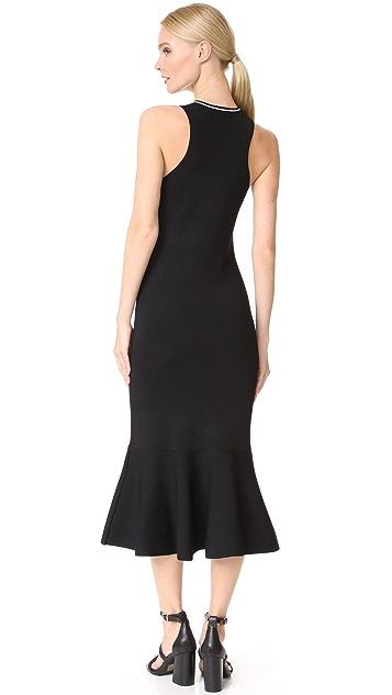 Jason Wu Grey Flippy Midi Dress