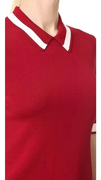 Jason Wu Grey Polo Shirt