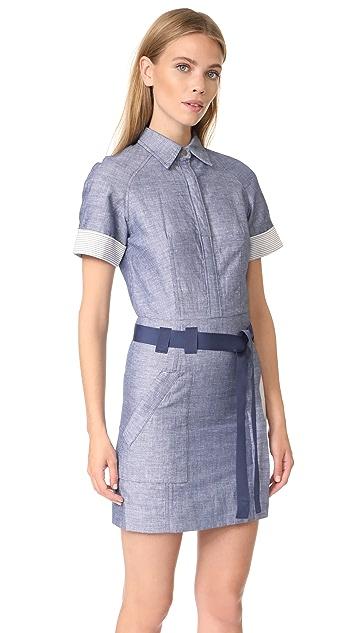 Jason Wu Grey Short Sleeve Shirtdress