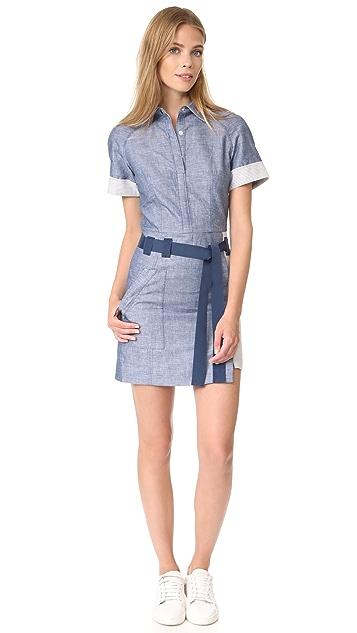 Jason Wu 短袖衬衣式连衣裙