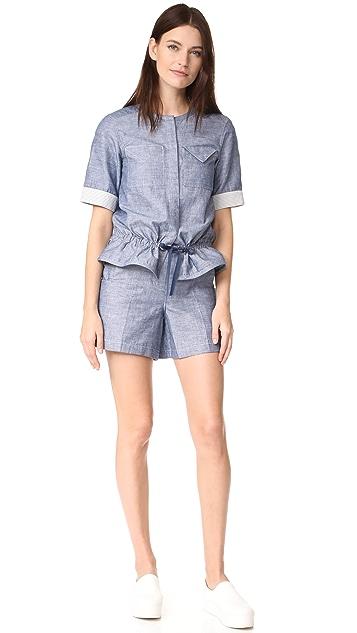 Jason Wu Grey High Waist Shorts