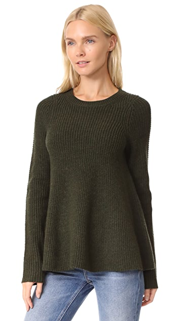 Jason Wu Grey Trapeeze Sweater