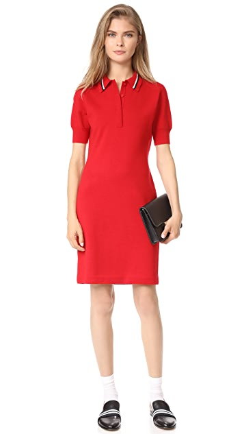 Jason Wu Grey Short Sleeve Polo Shirtdress