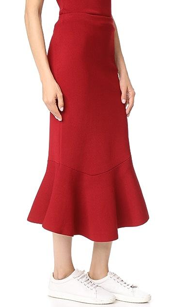 Jason Wu Grey Flippy Skirt
