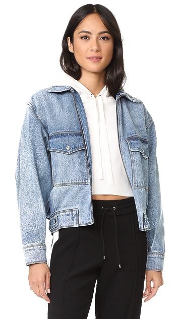 Jason Wu Grey Oversized Denim Jacket