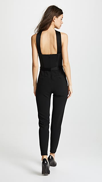 Jason Wu Grey x Diane Kruger Heavy Body Crepe Jumpsuit