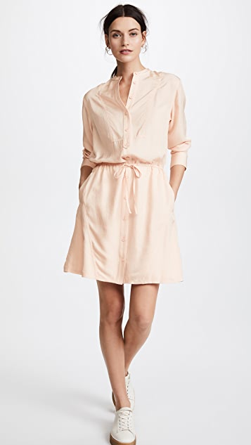 Jason Wu Grey Long Sleeve Shirtdress