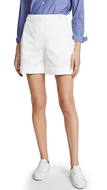 Jason Wu Grey Cotton Sailor Shorts