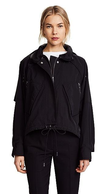 Jason Wu Grey Cotton Twill Jacket
