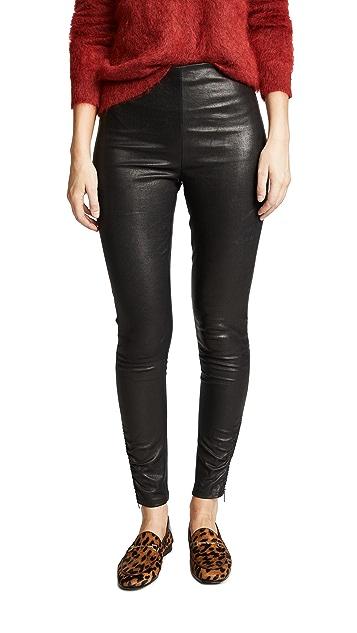 Jason Wu Stretch Leather Skinny Pants