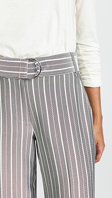 Jason Wu Grey Belted Wide Leg Pants