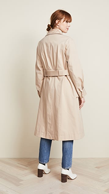 Jason Wu Grey Convertible Trench Coat
