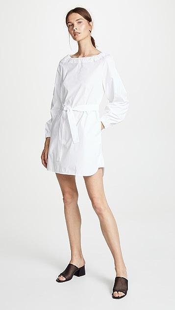Jason Wu Grey Poplin Belted Dress