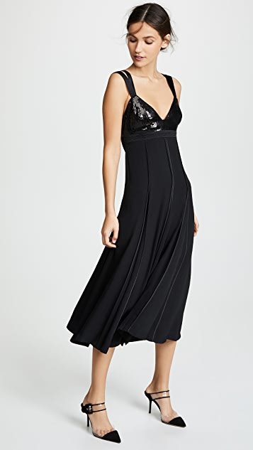Jason Wu Sequin Bustier Maxi Dress