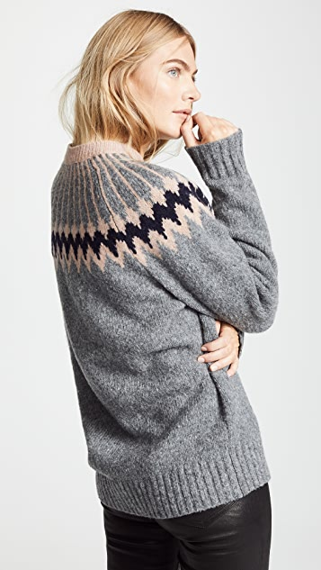 Jason Wu Grey Knit Olympia Sweater