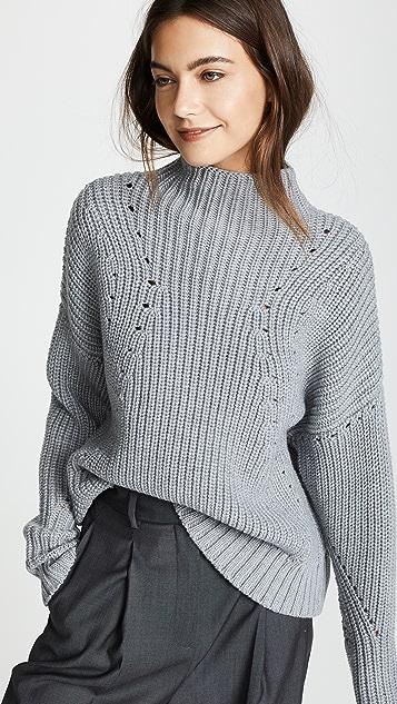 Jason Wu Grey Turtleneck Sweater
