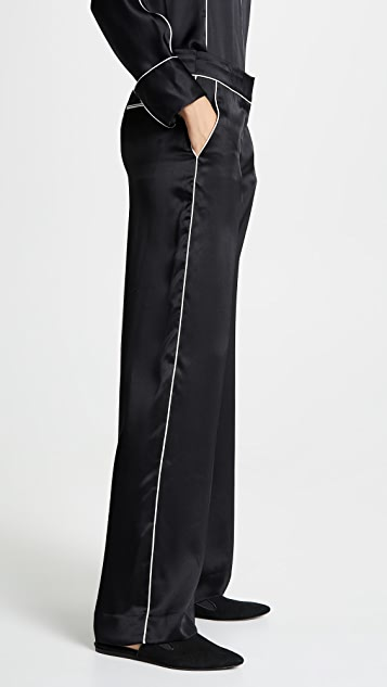 Jason Wu Grey Silk Pants