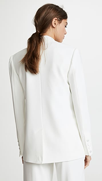 Jason Wu Grey Satin Back Crepe Jacket