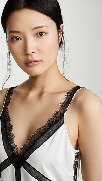 Jason Wu Grey Топ без рукавов с V-образным вырезом