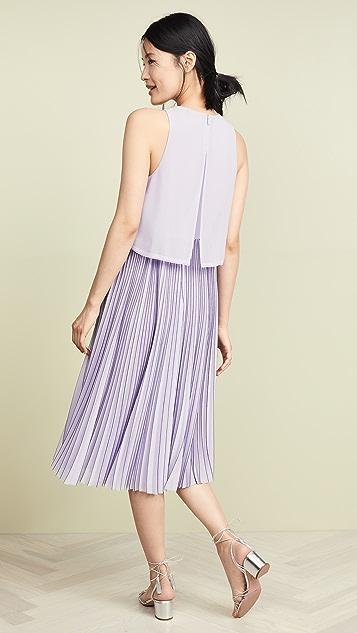 Jason Wu Grey Chiffon Overlay Dress