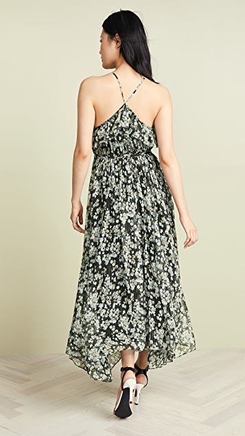 Jason Wu Grey Peonie Ruffle Apron Dress
