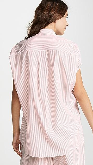 Jason Wu 条纹系扣衬衣