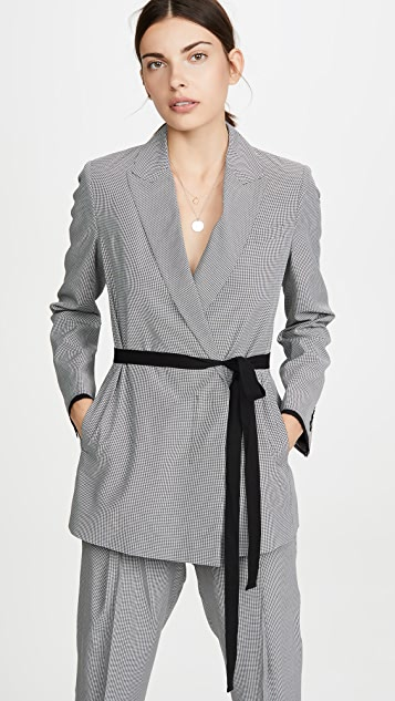 Jason Wu Mini Check Suit Jacket