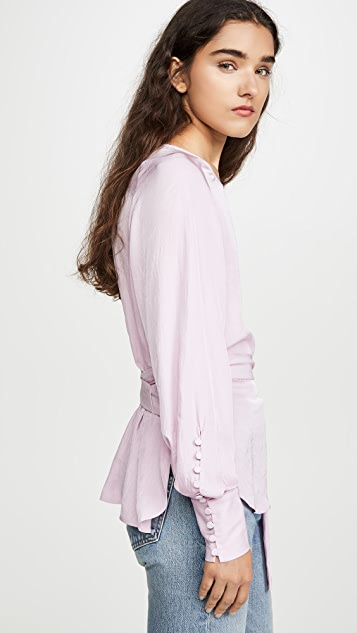 Jason Wu 裹身式女式衬衫